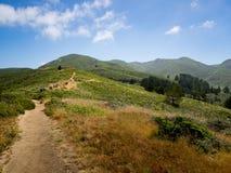 Free Hikers On Trail To Peak O Montara Mountain Royalty Free Stock Photography - 94432097