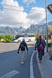 Hikers in Soller Stock Photography