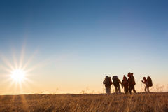 Hikers Stock Image