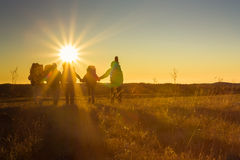 Hikers Royalty Free Stock Images