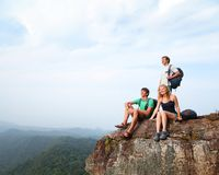 Hikers Stock Photography