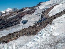 Hikin zum Vulkan San Jose Lizenzfreie Stockfotografie