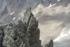hiking австрийца alps Стоковое Изображение RF