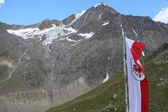 hiking австрийца alps Стоковая Фотография RF