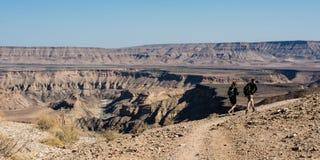 hiking Африки Стоковые Фотографии RF
