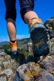 hiking ботинка Стоковая Фотография RF