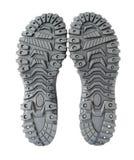 hiking ботинки единственные Стоковое Фото