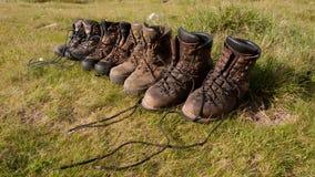 hiking ботинки Стоковое Изображение RF