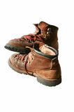 hiking ботинок старый Стоковые Фотографии RF