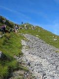 hiking вверх Стоковые Изображения