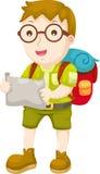 hiking вектор малыша Стоковые Фотографии RF