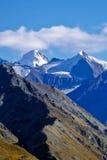 hiking верхние части камней путя горы красные белые Стоковое фото RF