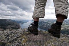 hiking взгляд Стоковое Изображение RF
