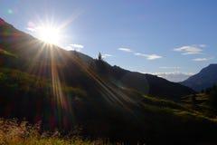 Hiking в Аляске стоковые изображения rf