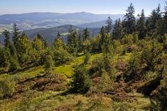 Hiking в баварских горах Стоковые Фото