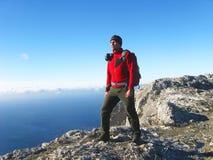 hiking горы Стоковое фото RF