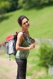 hiking детеныши повелительницы Стоковая Фотография