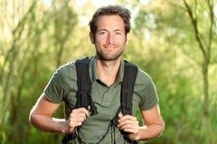 hiking детеныши человека Стоковая Фотография RF