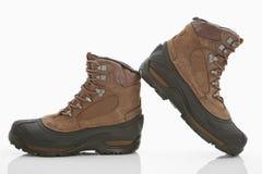 hiking женщины ботинок Стоковая Фотография
