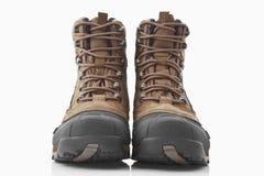 hiking женщины ботинок Стоковое Изображение RF