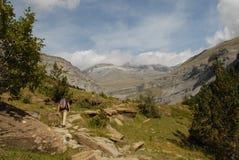 hiking каникула Стоковая Фотография RF