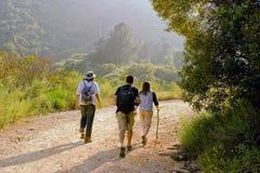 hiking место Стоковое Фото