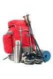 hiking оборудования стоковое фото