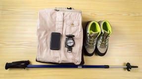 hiking оборудования Стоковая Фотография