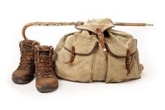 hiking оборудования Стоковые Изображения