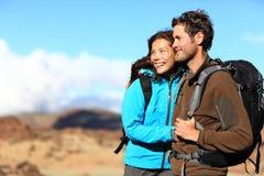 Hiking пары Стоковая Фотография RF