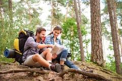 hiking пар Стоковая Фотография RF