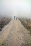 hiking пар Стоковые Изображения