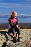 hiking перерыв Стоковые Фотографии RF