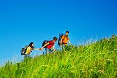 Hiking праздники Стоковые Изображения RF
