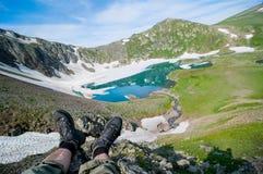 hiking принципиальной схемы Стоковые Фотографии RF