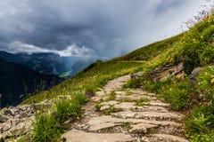 Hiking путь Стоковое Изображение