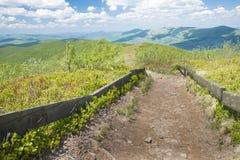 hiking путь Стоковые Фотографии RF