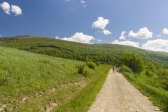 hiking путь Стоковое Изображение RF