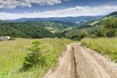 hiking путь Стоковые Изображения