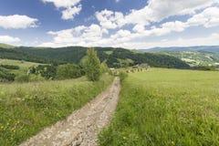 hiking путь Стоковое фото RF