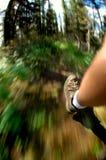 hiking пущи Стоковая Фотография RF