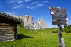 hiking рай Стоковые Изображения RF