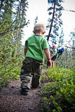 hiking семьи Стоковые Фото