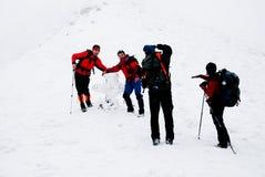 hiking стрельба стоковое изображение rf