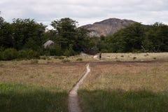 hiking тропка гор Стоковое Изображение RF