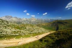 hiking тропка ландшафта превосходная стоковая фотография