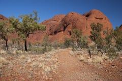 hiking тропка olgas Стоковое Изображение