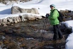 hiking Стоковое Изображение RF