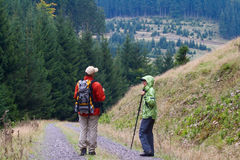 Hiking #5 Stock Image