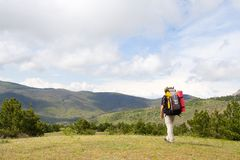 Hiking Royalty Free Stock Images